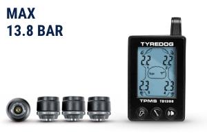 Система контроля давления и температуры в шинах, 4 внешниx датчика TPMS CRX-1041