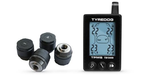 Система мониторинга давления воздуха в шинах, 4 внешниx датчика TPMS CRX-1041