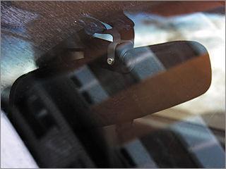вид камеры видеорегистратора MDVR CRX-2001 с улицы